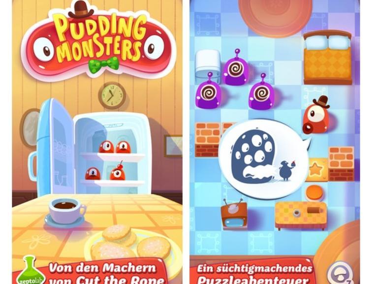 """""""Pudding Monsters"""": """"Cut the Rope""""-Entwickler veröffentlicht neues iPhone- und iPad-Spiel"""