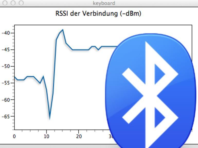 Bluetooth-Signalstärke anzeigen