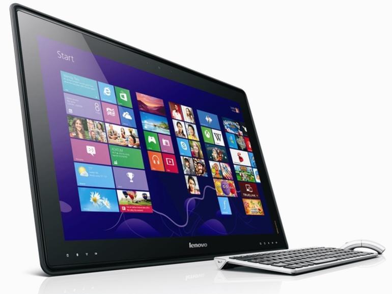 CES 2013: Lenovo stellt 27-Zoll-Tablet vor
