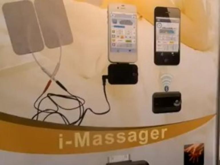 CES 2013: So wird das iPhone zum Masseur