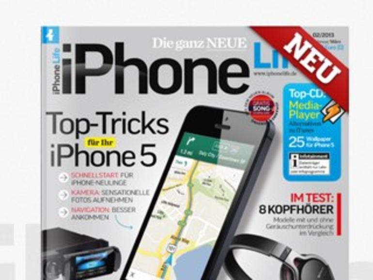 Top-Tricks für Ihr iPhone 5 im Magazin iPhone Life 02/2013