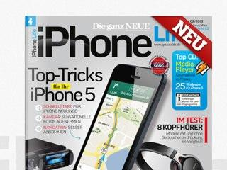 Top-Tricks für Ihr iPhone 5 im Magazin iPhone Life 02/2013