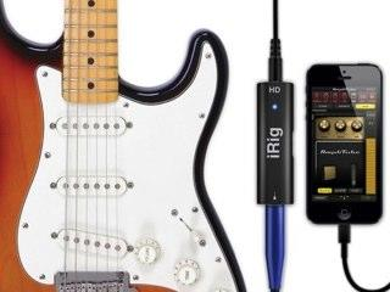 iRig HD: Erstes iOS-Audio-Interface für den Lightning-Anschluss angekündigt