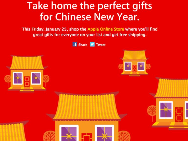 Apple veranstaltet Red Friday Shopping-Event in Asien