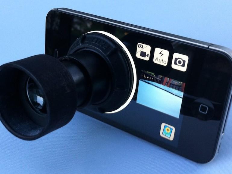 Daylight Viewfinder: Sucher-Aufsatz für das iPhone