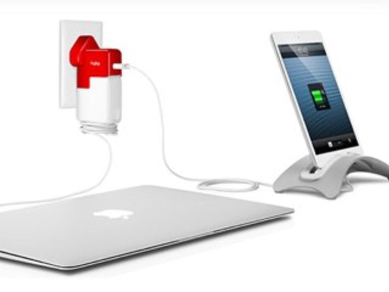 USB-Aufsatz für MacBook-Adapter TwelveSouth PlugBug ab sofort mit Reisesteckern