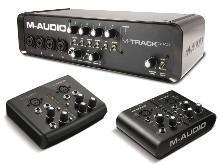 M-Track, M-Track Plus und M-Track Quad