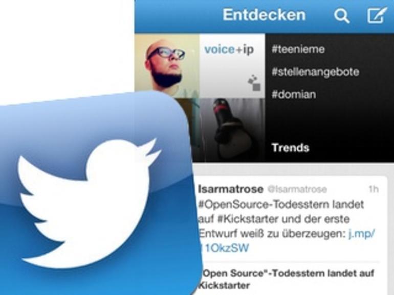 Twitter für iOS: Umfassendes Update veröffentlicht