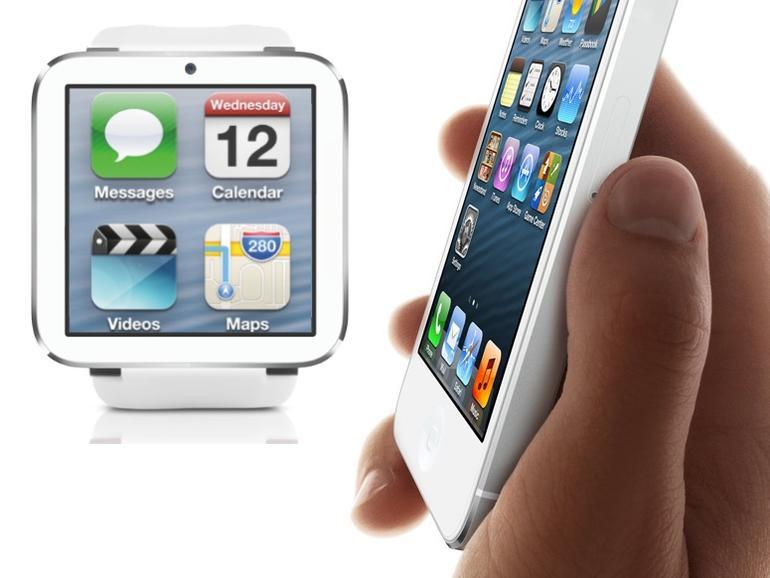 Wie unabhängig wird die iWatch vom iPhone? Ein frühes Konzeptbild.