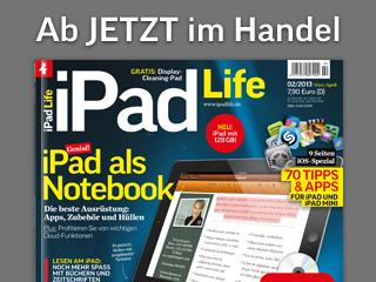 iPad Life 2.2013: Genial, iPad als Notebook!