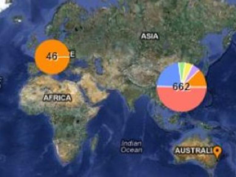 Interaktive Karte zeigt alle Apple-Zulieferer auf einen Blick