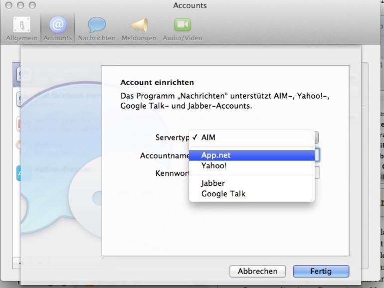 Project Amy: App.net-Nachrichten via Messages.app verschicken