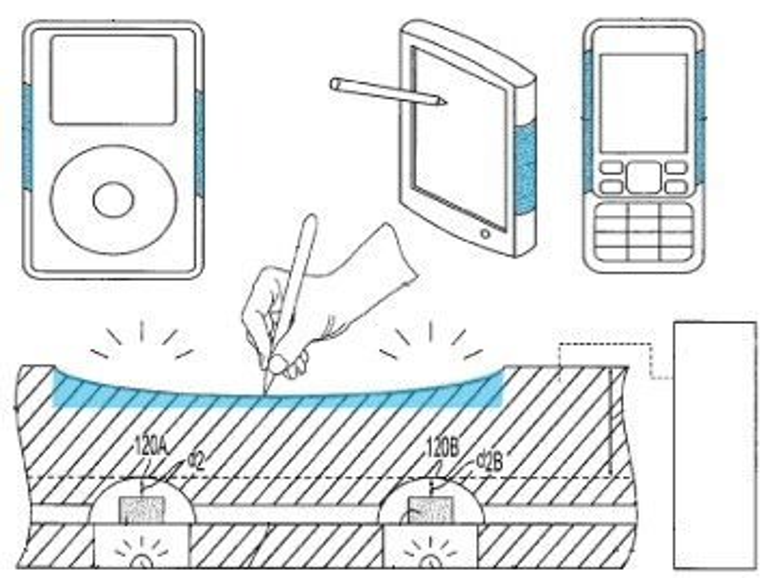 Druck-empfindliche Gehäuse für iPhone & Co: Apple erhält Patent zugesprochen