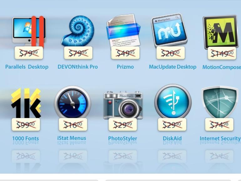 Neues MacUpdate-Bundle: Parallels Desktop 8, iStat Menus 4und 8 weitere Apps zum Schnäppchenpreis