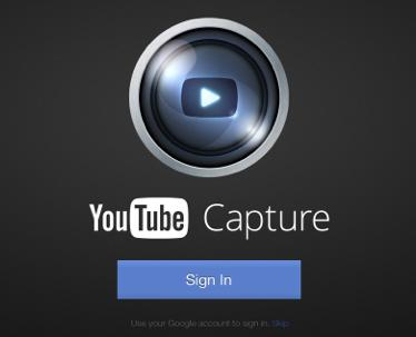 Google passt YouTube Capture App an das iPad an