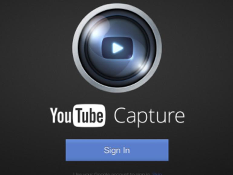 Google passt YouTube Capture App an das iPad an