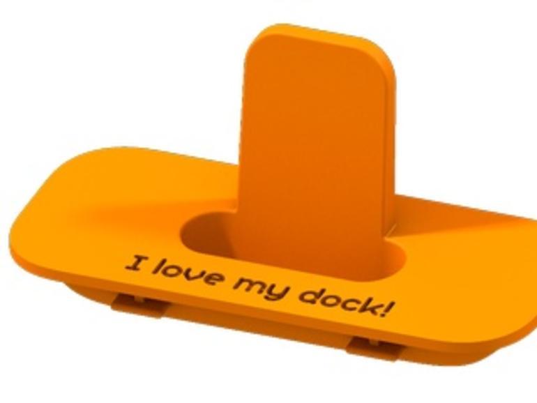 Sculpteo: Dock-Adapter aus dem 3D-Drucker