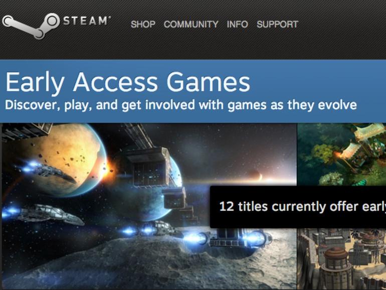 Steam Early Access bietet Vorschau auf kommende Spiele