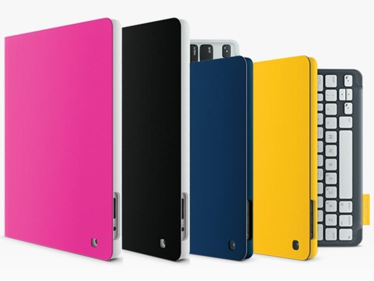 Schutzhülle mit integrierter Tastatur: Logitech stellt Keyboard Folio für iPad und iPad mini vor