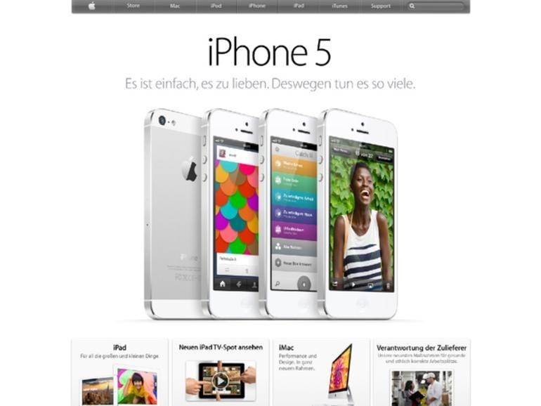 Die 10 populärsten Websites: Apple.com platziert sich auf Platz 8