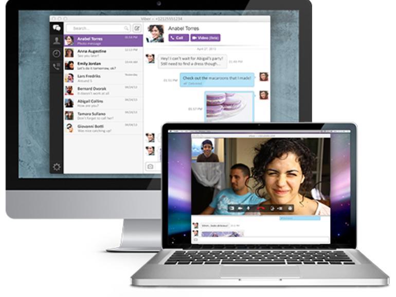 Kostenloser Smartphone-Messenger Viber ab sofort mit PC- und Mac-Anwendung
