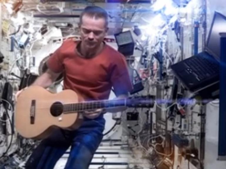 """YouTube-Hit """"Space Oddity"""" an iPad und mit GarageBand entstanden"""
