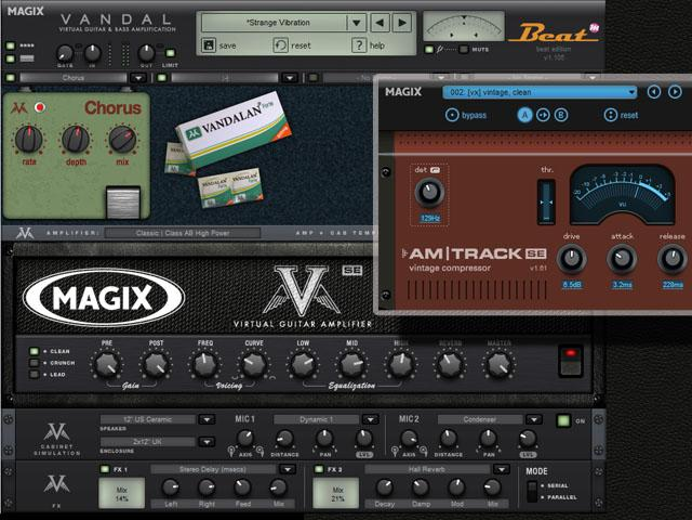 Gratis: Magix Vandal SE und AM | Track SE