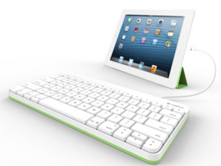 Logitech stellt kabelgebundene iPad-Tastatur vor