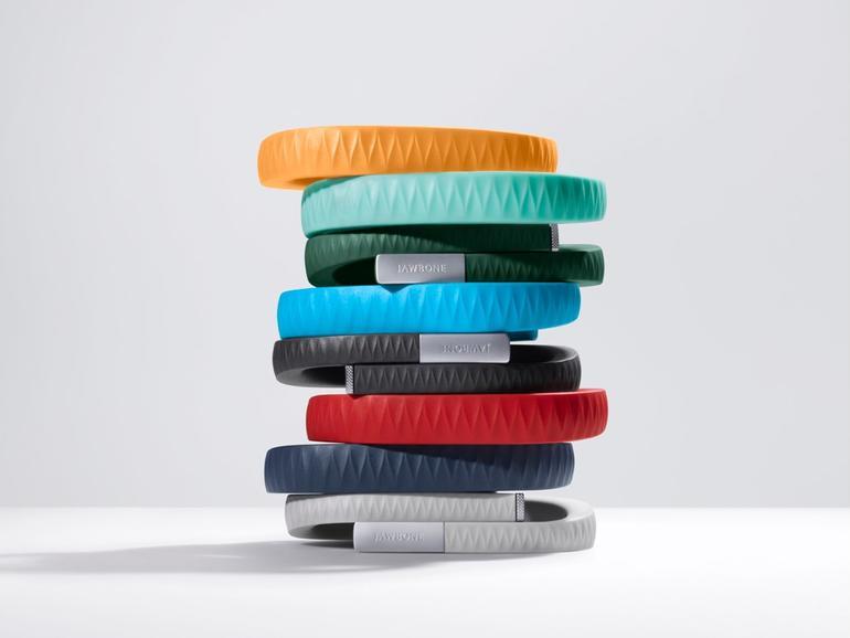 UP ist in vielen verschiedenen Farben erhältlich