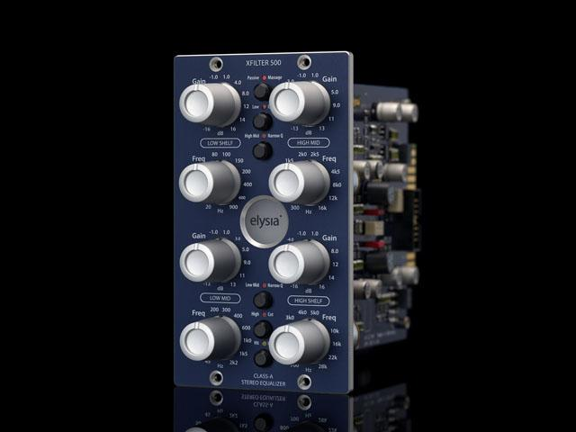 Elysia xfilter 500 - Stereo-Equalizer