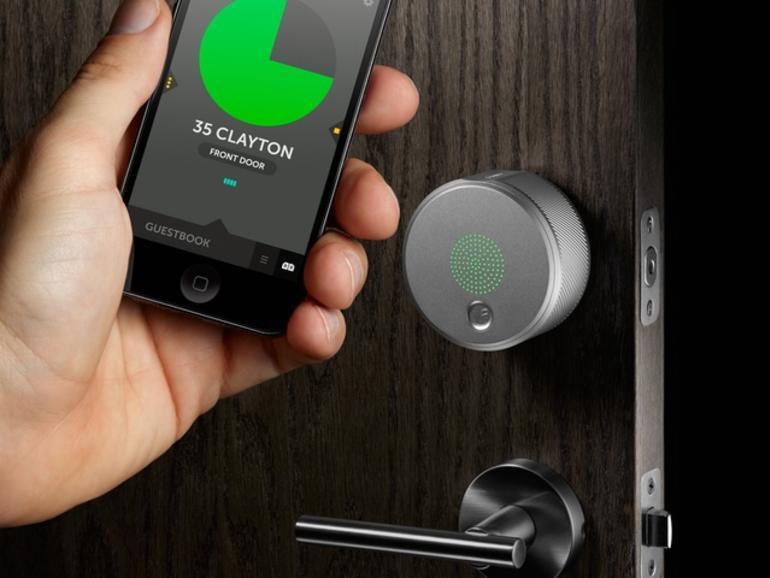 August Smart Lock: Das iPhone-gesteuerte Türschloss