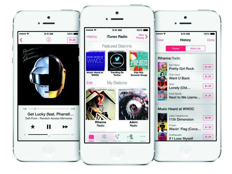 iTunes Radio: Das muss Apple an die Labels zahlen