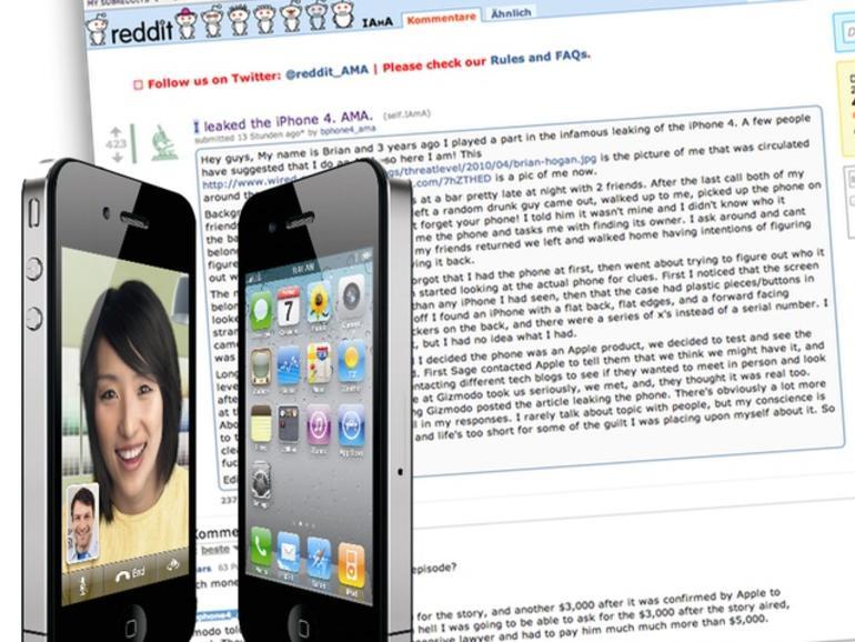Kommt ein iPhone in eine Bar: So wurde das iPhone 4 entdeckt