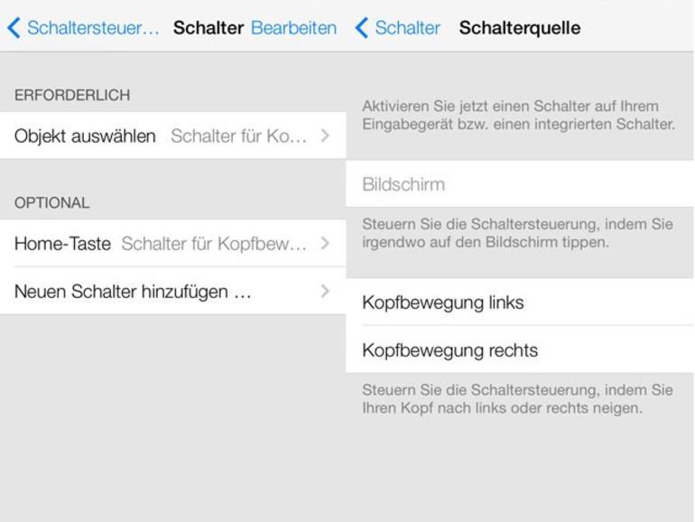 iOS 7 erlaubt iPhone-Steuerung über Kopfbewegungen