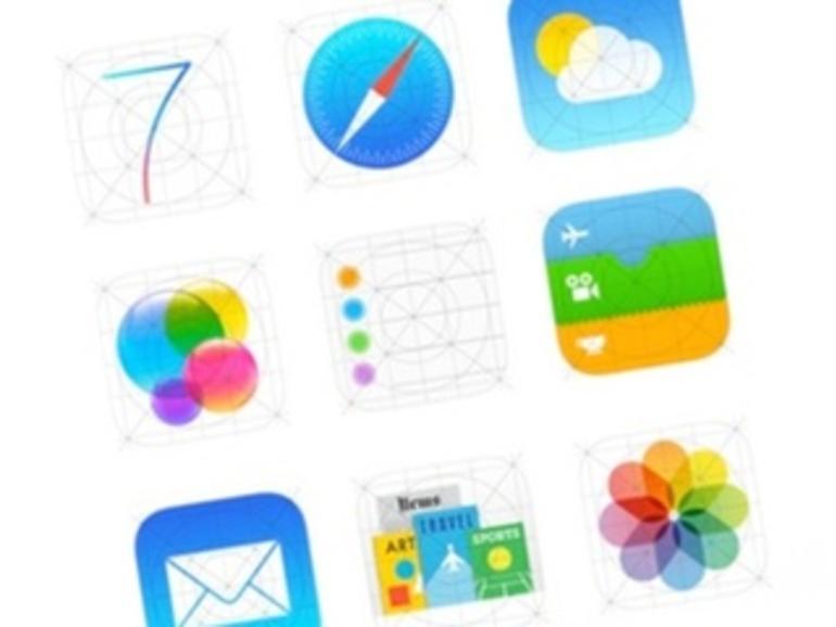 iOS 7: So könnte die neue App-Generation aussehen