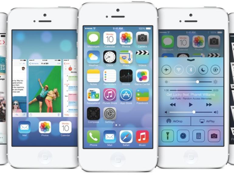 Apple beantragt Markenzeichen für iOS-7-Symbole