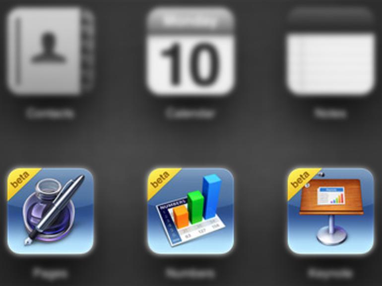Apple öffnet iWork für iCloud Beta für Mitarbeiter