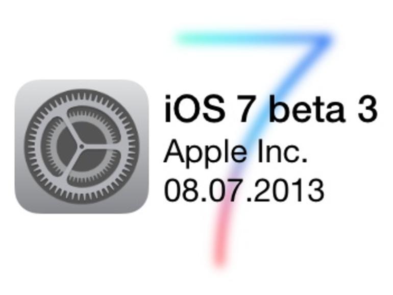 iOS 7: Kommt die Beta 3 am 8. Juli?