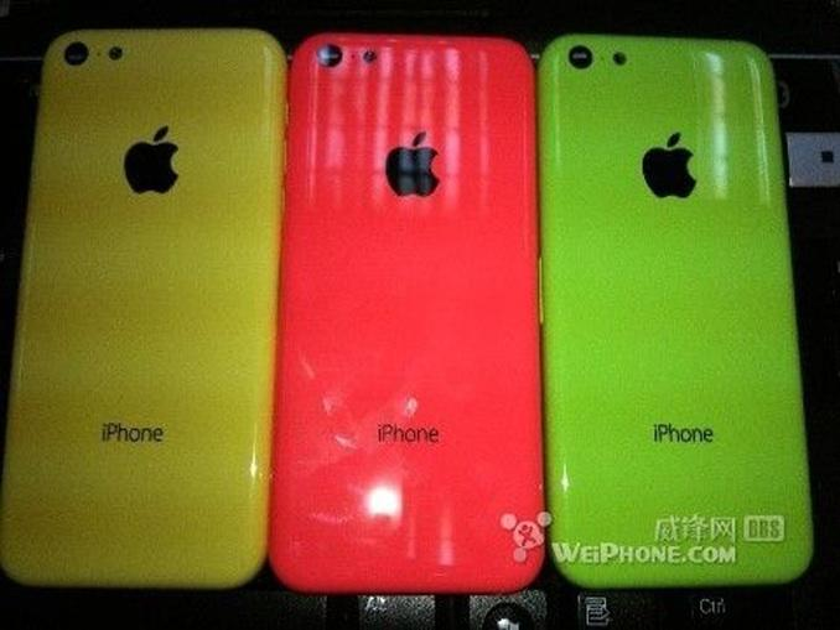 Fotos sollen Rückseite des Low-Cost-iPhones zeigen