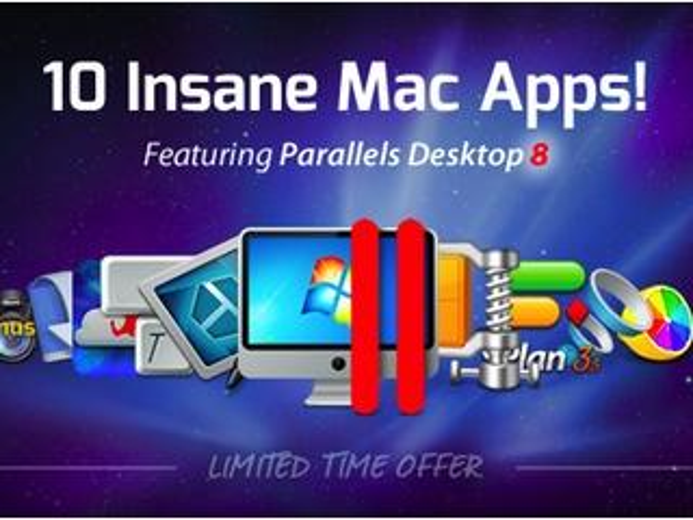 Neues Summer 2013 Mac Bundle mit Parallels Desktop 8 und 8 weiteren Mac-Apps