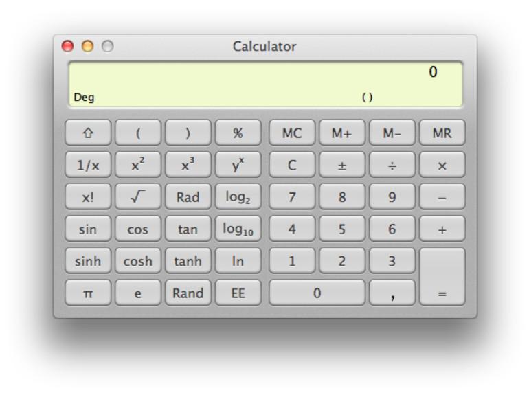 OS X: So bringen sie dem Taschenrechner das Sprechen bei