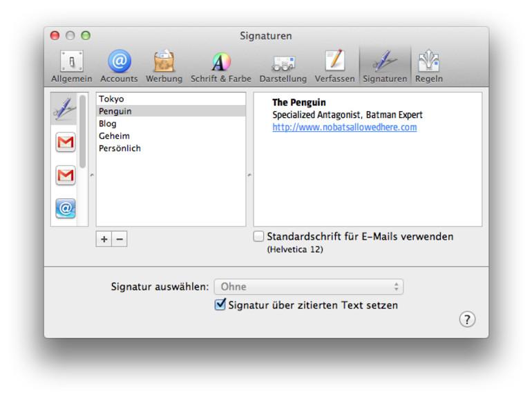 So nutzen sie HTML-Signaturen in Mail auf dem iPhone und iPad