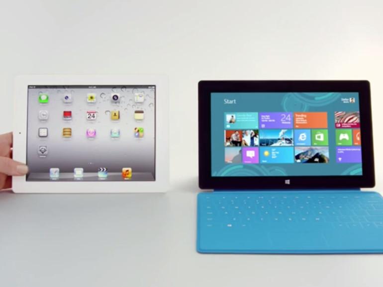Microsoft veröffentlicht neuen Anti-iPad-Werbespot