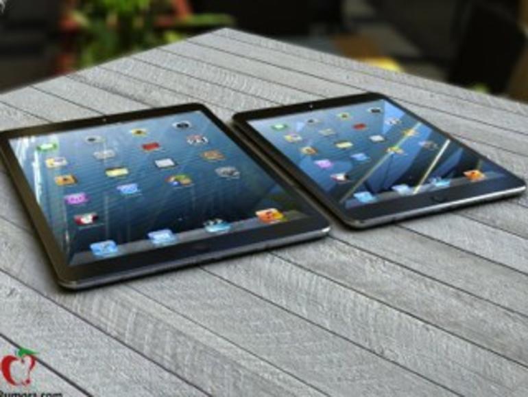 Das iPad 5 soll schrumpfen, dass iPad mini 2 ein Retina-Display bekommen.