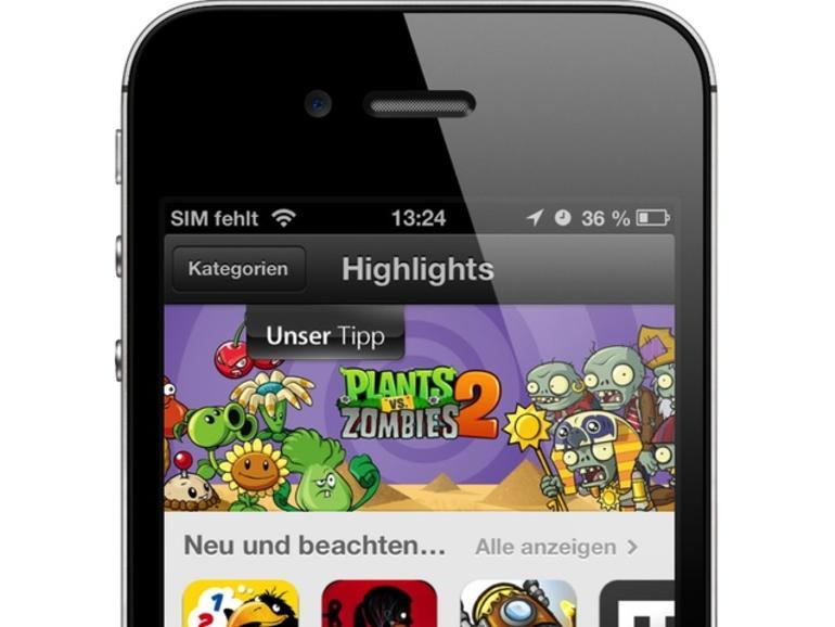 Apple experimentiert mit den App-Store-Ranglisten