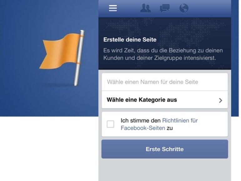 Facebook aktualisiert Seitenmanager-App