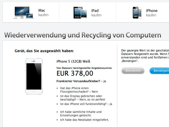 """Reuse and Recycle"": Apple startet iPhone-Tauschprogramm in den USA"