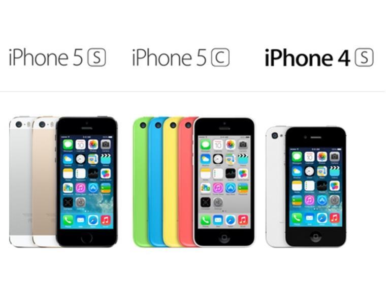 iPhone 5c, iPhone 5S und das iPhone 4S im Vergleich - wo sind die Unterschiede, die kaufentscheidend sind?