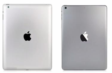 iPad 4 (links) und iPad 5.