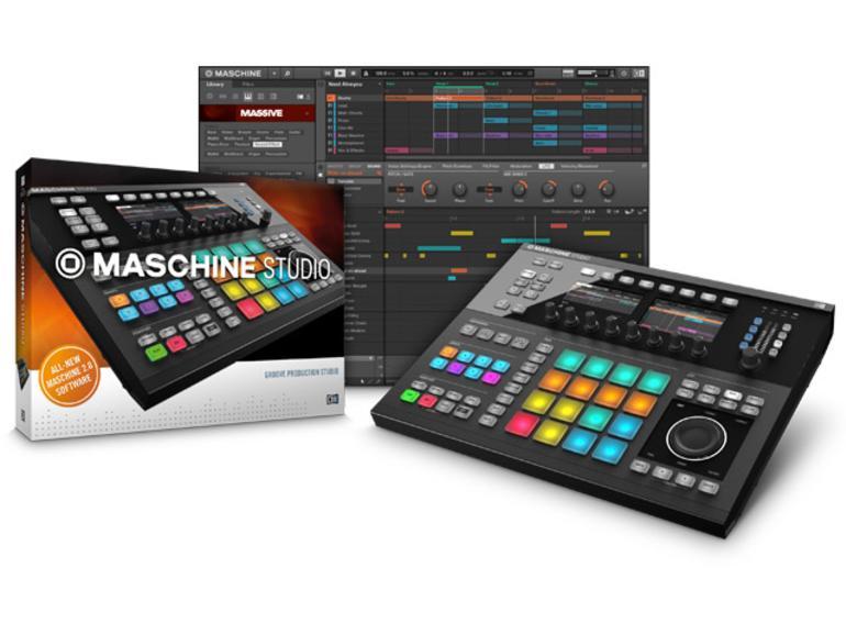 Native Instruments Maschine Studio und Maschine 2.0 Software
